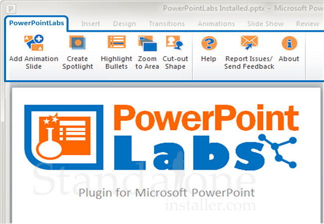 PowerPoint Labs