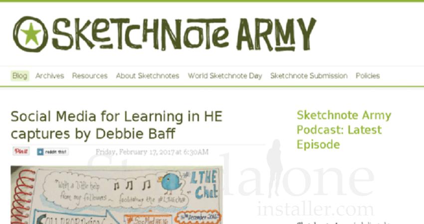 Sketchnote Army