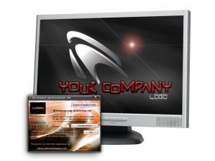 Download 3D Company Logo Screensaver