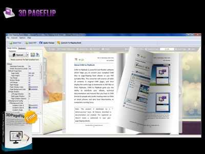3DPageFlip Free Flipping Book Builder