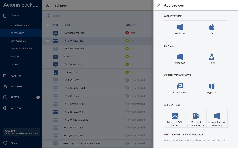 acronis backup software Multimedia mac os