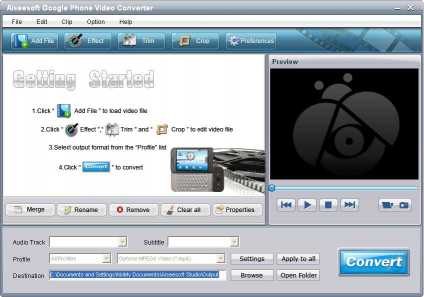 Aiseesoft Google Phone Video Converter