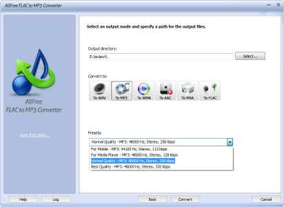 Download All Free FLAC to MP3 Converter