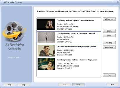 All Free Video Converter
