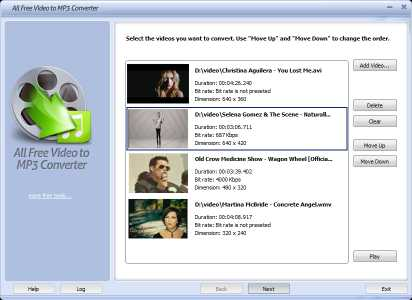 Download All Free Video to MP3 Converter