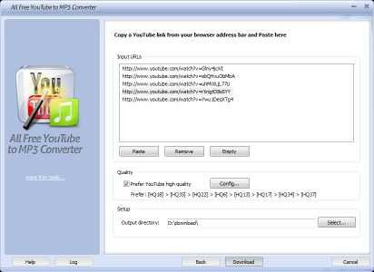 All Free YouTube to MP3 Converter
