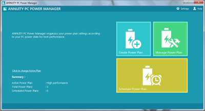 ANNUITY PC Power Manager