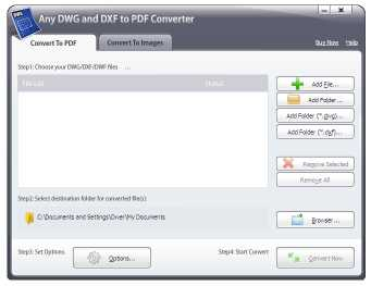 Download Any DWG and DXF to PDF Converter 2014