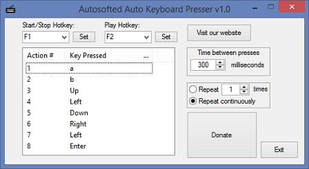 Download Auto Keyboard Presser by Autosofted