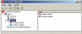 Download Avira AntiVir Sharepoint