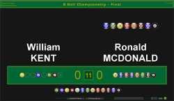BallStream Pool Scoreboard