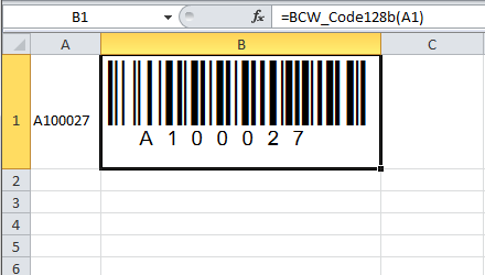 How to Create a Bar Code in Microsoft Excel