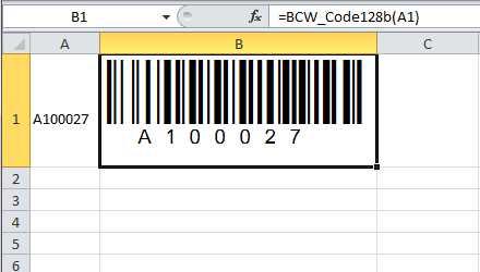 BarCodeWiz Code 128 Barcode Fonts by BarCodeWiz