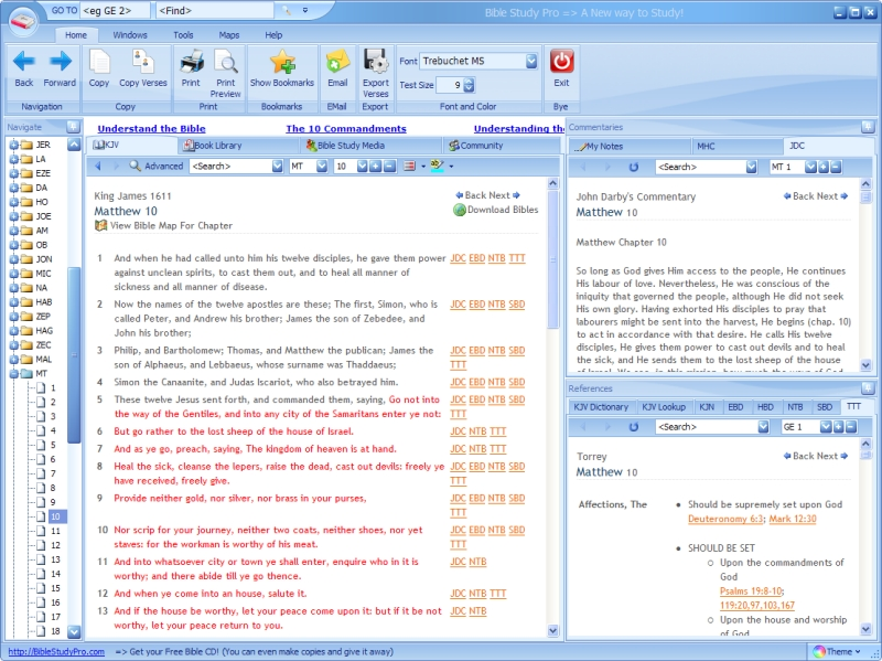 Bible Pro - Free download and software reviews - CNET ...