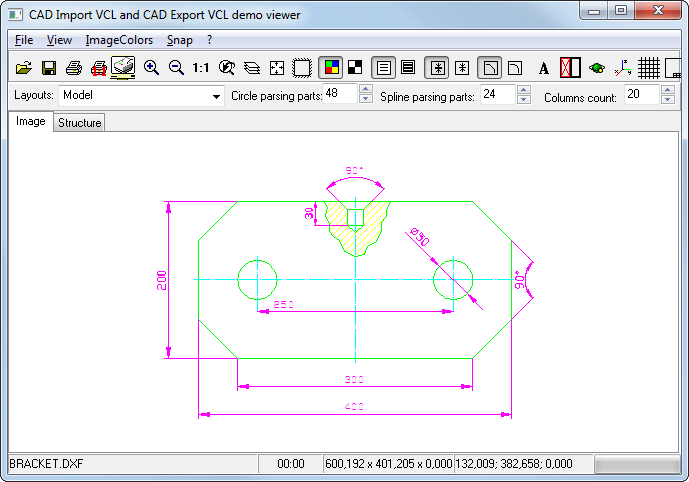 Cad vcl 2d 3d cad in delphi c builder for 2d drawing online