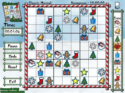 Download Christmas Sudoku