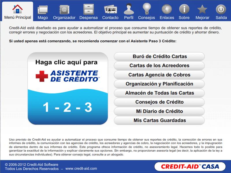 Credit-Aid CASA Software Reparacion Credito ... - photo#21