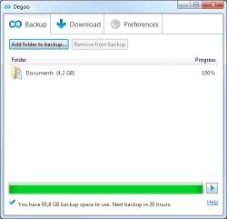 Download Degoo 100 GB Free Cloud Backup