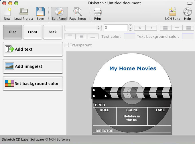 Disketch free cd label software for mac for Dvd label template for mac