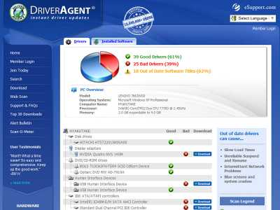 Download DriverAgent