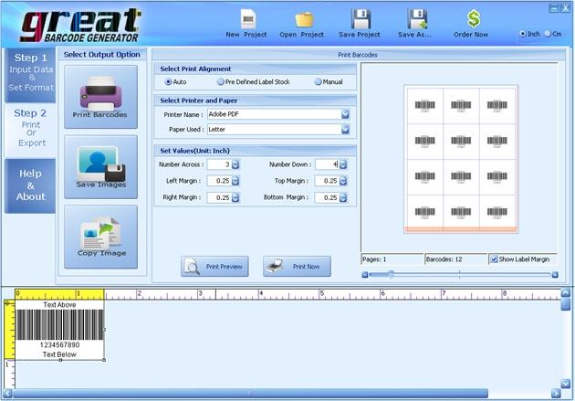 EAN 128 Barcode Generator - standaloneinstaller.com