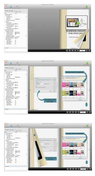 FlipBook Creator for iPad (Mac)