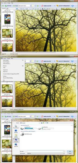 FlipBuilder Image to PDF Converter (Freeware)