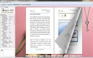 FlipPageMaker Free Flip Page Creator
