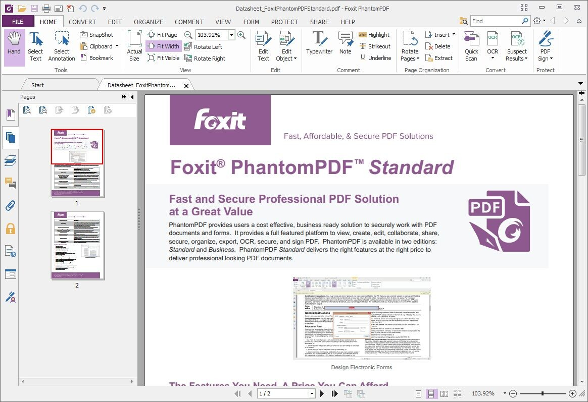 download foxit pdf reader offline installer