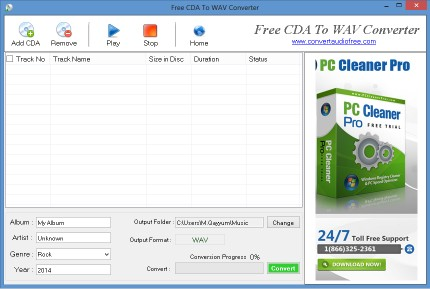 Download Free CDA to WAV Converter