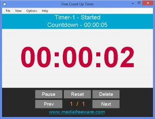 Download Free Count Up Timer