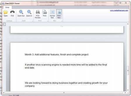 Download Free DocX Viewer