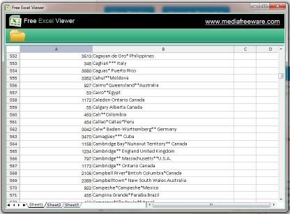 Download Free Excel Viewer
