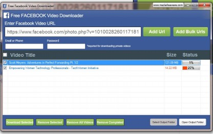 Download Free Facebook Video Downloader