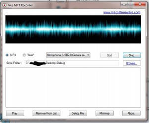 Download Free MP3 Recorder