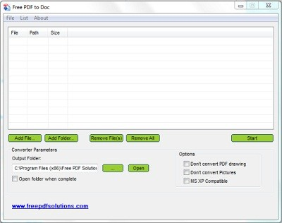 Download Free PDF to DOC Converter