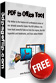Free PDF to Office Conversion Tool