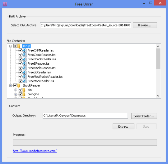 Unrar software for windows free download