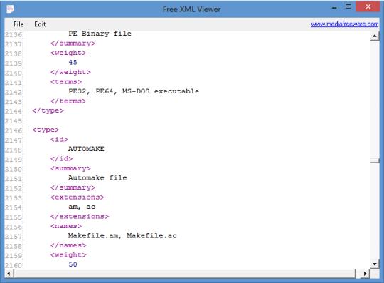 free xml viewer