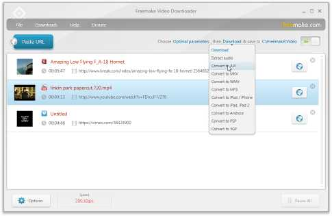 Download Freemake Video Downloader