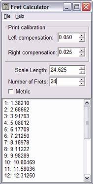 Download Fret Calculator