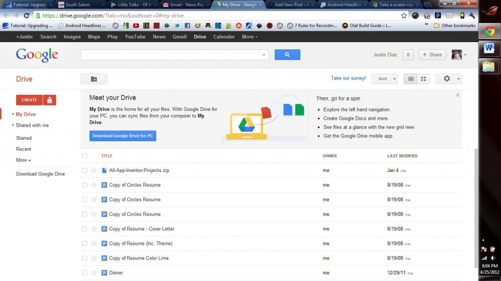 Bedienungsanleitung google drive