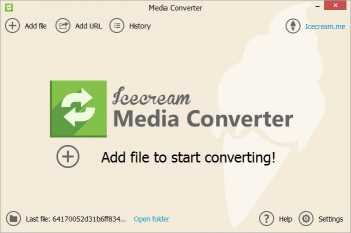 Download Icecream Media Converter