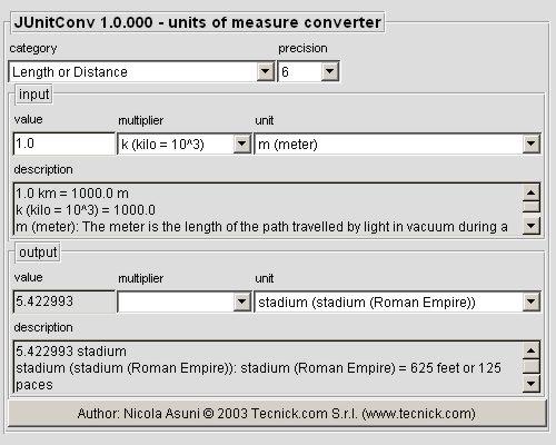 Measure converter