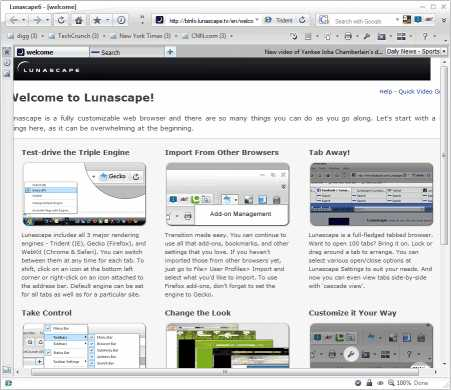 Download Lunascape