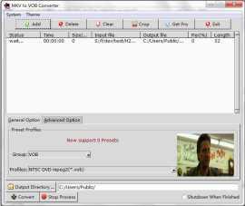 MKV to VOB Converter Pro