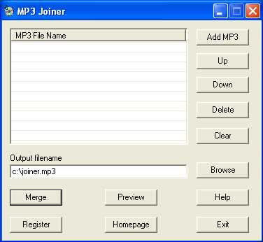 Download MP3 Joiner 009soft