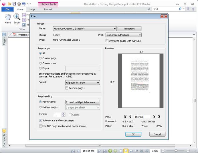 nitro pdf writer