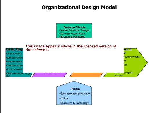 Organizational Design Model Software