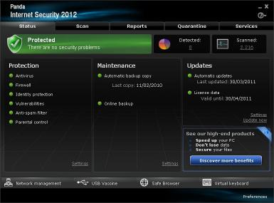 Download Panda Internet Security 2012